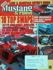 MUSTANG & FORDS 1997 JAN - RARE FINDS, 428SCJ GT