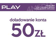 DOŁADOWANIE DOLADOWANIE - PLAY 50 PLN [Szybka realizacja/PayPal/Przelew]