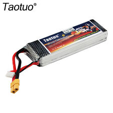 Taotuo 11.1V 4500mAh 3S 30C XT60 Plug Lipo RC Battery Pack for Car Helicopter