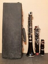 Clarinet musical wind instrument, Band Orchestral Vintage