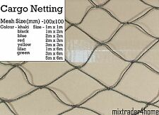 Cargo Netting Heavy Duty 2mm Cord Cover Protection Strong Net Luggage Car Truck