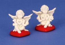 8 süsse Engel Figuren auf Herz in Rot Liebe Schutzengel Deko Alle Anlässe LOVE