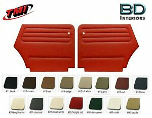 1973 - 1979 VW Volkswagen Bug, Beetle Rear  Quarter Panel Set Convertible's