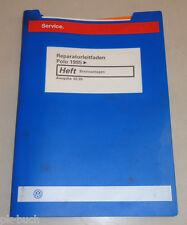 Werkstatthandbuch VW Polo 6N Bremsanlagen Bremsen Stand 02/1999
