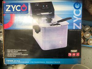 Zyco Single Fryer 4L Brand New Sale Cheapest