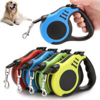 Retractable Eextendable Pet Collar Automatic Walking Lead Tangle Free Dog Leash