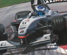 Card 2001 McLaren Mercedes MP4-16 #3 Mika Hakkinen (FIN) by Toon Nagtegaal OE