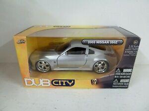 Jada Toys: DUB CITY - 2003 Nissan 350Z - Die Cast Model Car 1:32 - FREE POST