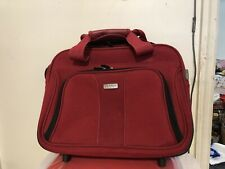 Ricardo ELITE Carry-on Wheeled Laptop Travel Overnight Case, Business Tote RED