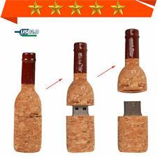 USB Stick 1MB-64GB Memory Stick Wine Bottle Corks Flash Drive Pendrive Mini lot