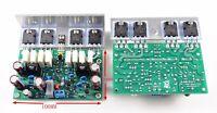 L20 Audio power amplifier 2pcs 350W+350W AMP assembled BOARD 2channel AMAZING