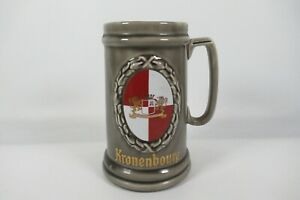 Wade Kronenbourg Tankard Steiner Mug Stoneware Pub Bar Man Cave