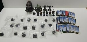 Star Wars Miniatures Bulk Collection With Cards