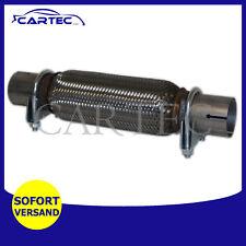 Flexrohr Auspuffrohr KAT REPARATUR 45x200/300mm montage ohne schweißen möglich