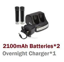 Black & Decker VersaPak VP100 VP110  fo (2) 3.6V 2.1AH Battery + (1) Charger