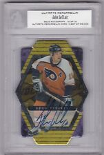 John LeClair Philadelphia Flyers Autographed BAP Ultimate Memorabilia Gold 10/10