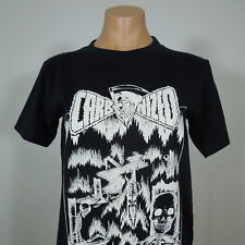 CARBONIZED Au -To- Dafe Black Graphic T-Shirt Men's One size (NEW)