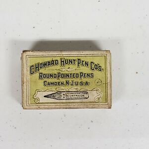 C. Howard Hunt Pen Co's No. 21 Companion Nibs Unopened NOS