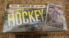 1990 TOPPS OFFICIAL HOCKEY SEALED BOX COMPLETE SET 396 PICTURE CARDS