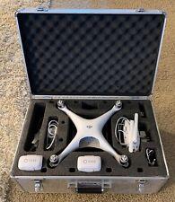 DJI Phantom 4 Advanced 4K Camera Drone - rarely used, Aluminum Case