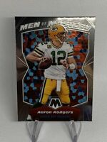 2020 PANINI MOSAIC MEN OF MASTERY AARON RODGERS PACKERS 1ST FIRST MOSAIC