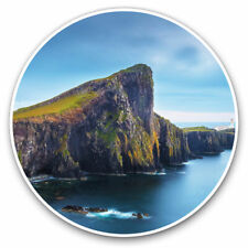 2 x Vinyl Stickers 7.5cm - Neist Point Isle Of Skye Scotland Cool Gift #16384