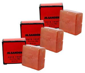 Jil Sander Feeling Man (M) Mini Soap Combo Pack