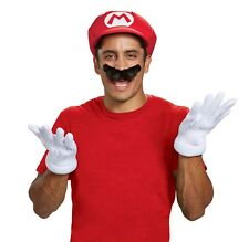 New Mario Adult Accessory Kit by Disguise 73790 Costumania