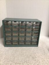 25 Bin Organizer w/Full Length Drawer Parts/Fasteners/Nuts/Bolt s/Other Hardware