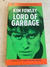 KIM FOWLEY Lord Of Garbage limited edition Paperback autographed Runaways Rare