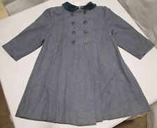 Petit Diable Wool Blend Coat Size 4-5? Euc