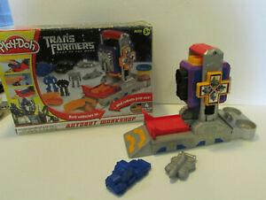 play-doh transformers dark moon auto bot playset