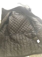 London Fog Womens Hooded Quilted Coat Jacket S Black Excellent Condition