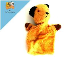 """Vintage 1960's Chad Valley - SOOTY - 9"""" Plush Puppet - Sooty & Sweep"""