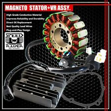 99-07 HAYABUSA GSX-1300 MAGNETO COIL STATOR+VOLTAGE REGULATOR RECTIFIER+GASKET