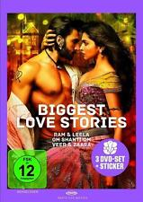 Shah Rukh Khan - Biggest Love Stories [3 DVDs] (OVP)