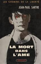 JEAN-PAUL SARTRE / LA MORT DANS L'AME / POCHE