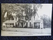 1940's The McIntosh Manor in Eulonia, Ga Georgia PC