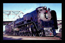 Union Pacific 4-8-4 Northern steam locomotive train railroad postcard *763