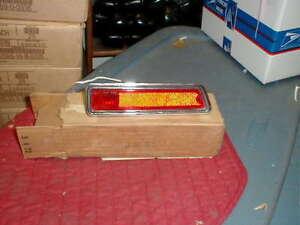 NOS MOPAR 1970-1 DART SWINGER REAR SIDE MARKER LAMP