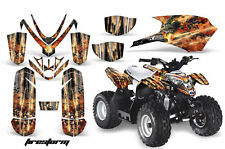 ATV Graphics Kit Quad Decal Sticker Wrap For Polaris Outlaw 50 08-18 FIRESTORM K