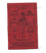 Yantra Phra Yant  Siwalee Thaï Amulet Buddha de Thaïlande en tissu-6382
