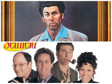 Seinfield Cast the Kramer Jerry 2 individual Posters! Larry David 90's rules New