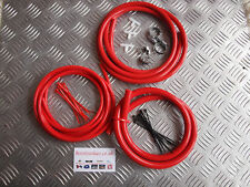 Mitsubishi Evo Vacuum Hose kit- Red