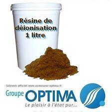 Résine de déionisation pour osmoseur 1 litre
