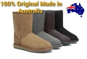 UGG 100% Original Made in Australia Short Classic Sheepskin