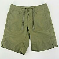 The North Face Green Nylon Blend Shorts Womens 4