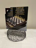Spin Master 10 Game Set, Chess, Checkers, Backgammon, Mancala, Roll Em, Etc