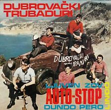 "DUBROVACKI TRUBADURI AUTO-STOP / LINĐO / DUNDO PERO RECORD YUGOSLAVIA7"" PS"