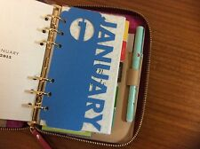 Monthly Tab Inserts for Personal Size Planner/Organizer